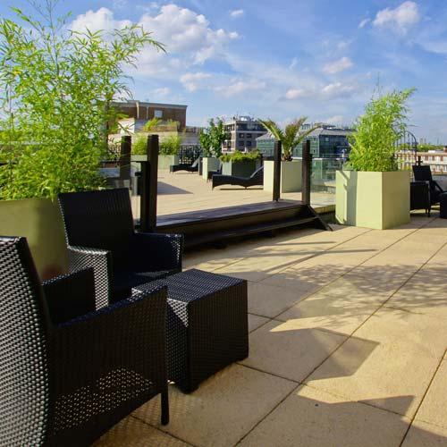 Regent's Park roof terrace