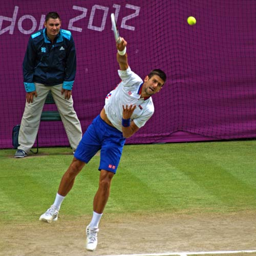 Novak Djokovic, London 2102