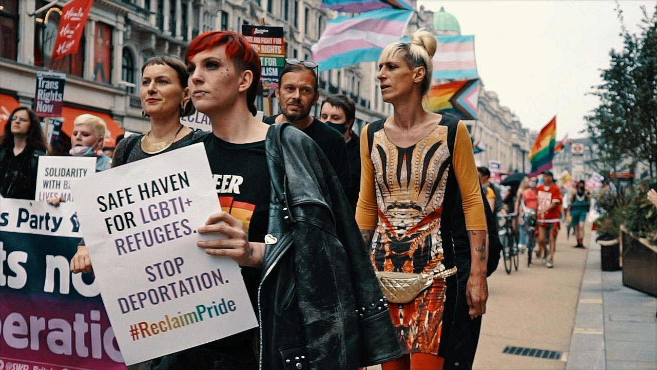 #ReclaimPride March, London, 24 July 2021